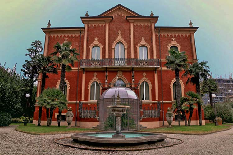 Itinerario Ville Villette Alberghi Stile Liberty Riccione