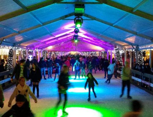 Cosa fare a Natale a Riccione: pattinaggio su ghiaccio in centro!