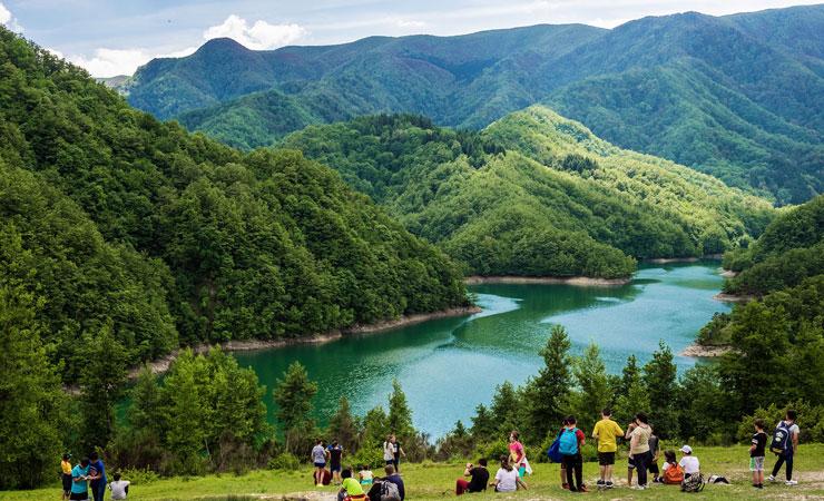 trekking escursioni riccione dintorni itinerari percorsi piedi